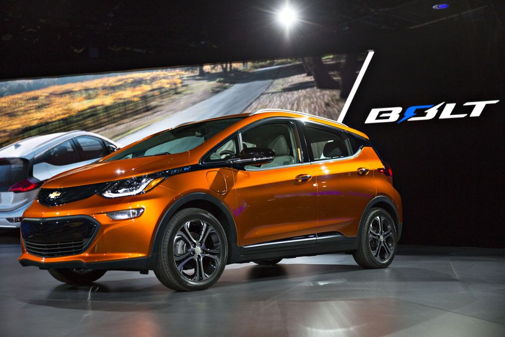 The Top EV in the U S  Not Sold by Elon Musk? The Chevy Bolt - Bloomberg