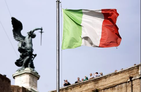 Italy's Central Bank As Banking Report Due