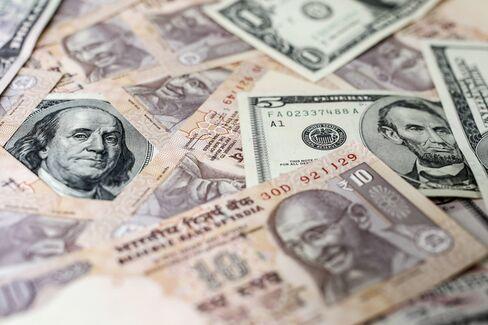 UBS Sees Rupee at 70 as Rajan Lacking Magic Wand
