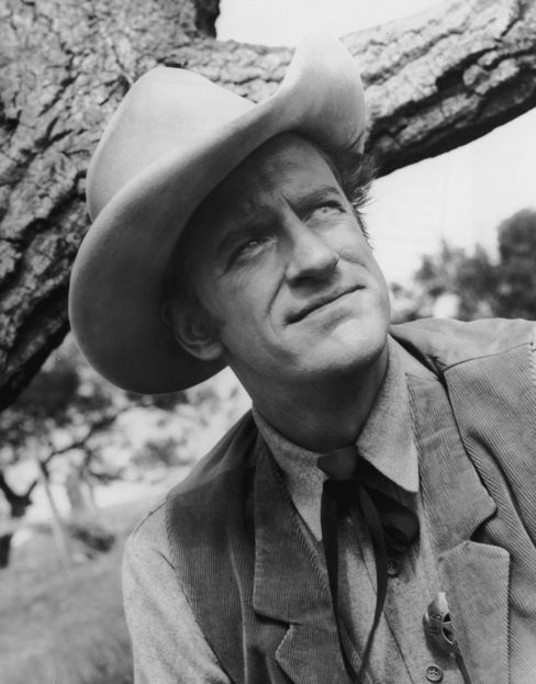 James Arness, Marshal Matt Dillon on 'Gunsmoke'
