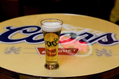 Molson Coors to Buy Europe's StarBev for $3.54 Billion