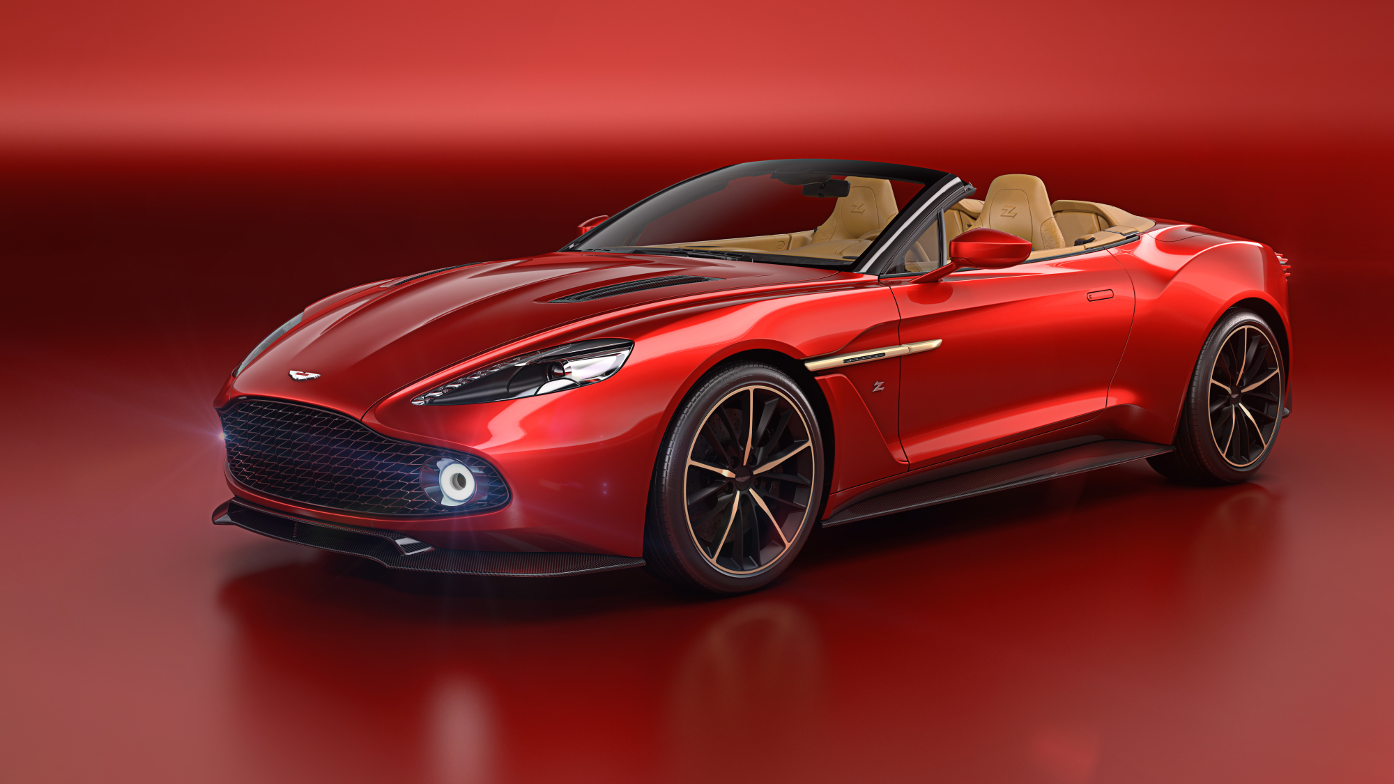 Aston Martin Launches the Vanquish Zagato Volante Roadster