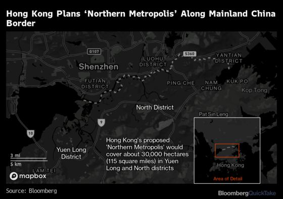 What Is Hong Kong's 'Northern Metropolis' Plan About?