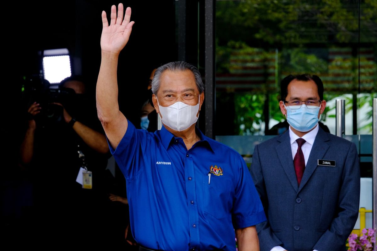 Malaysian PM to Justify Shutting Parliament to Fight Covid