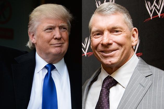 Vince McMahon vs. Donald Trump