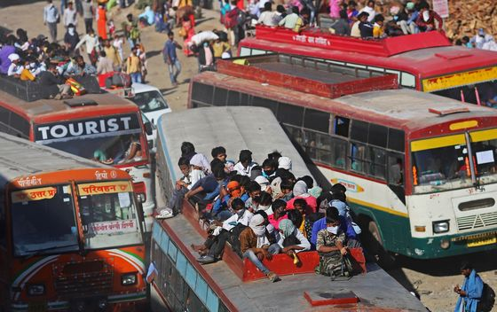 Migrant Workers in India May Shun Cities After Lockdown
