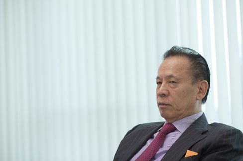 Universal Entertainment Corp. Chairman Kazuo Okada