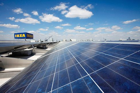 Ikea's New Solar Panels: Sunshine Optional, Subsidies Required