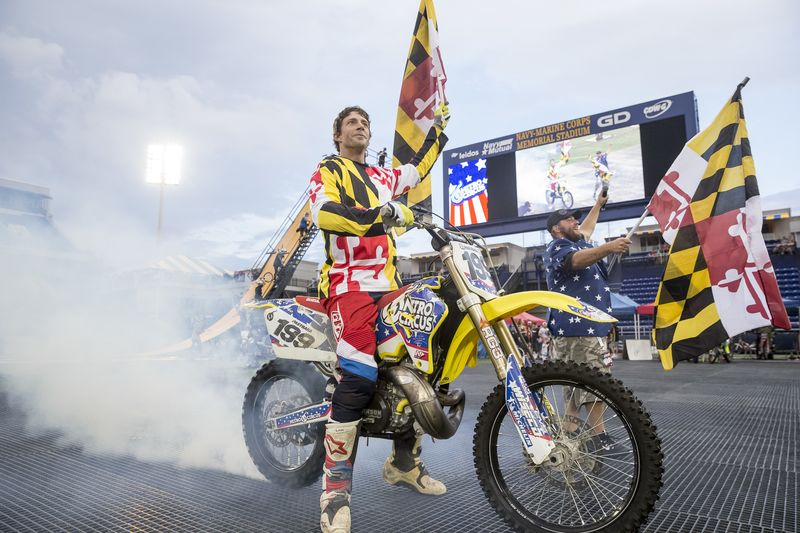 how travis pastrana plans to recreate evel knievel s legendary