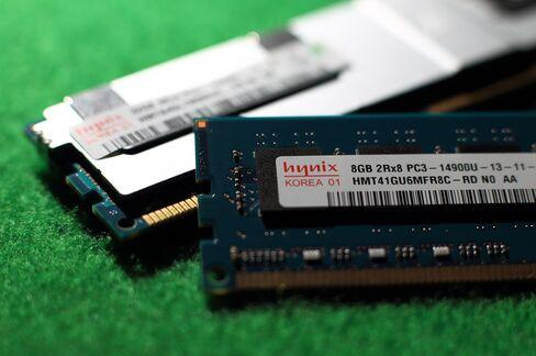 Hynix Rises to 8-Month High on Elpida, DRAM Prices