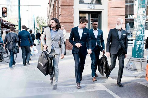 Indochino says its supply chain lets it offer more fashion-forward clothes because it can make a profit on smaller batches.