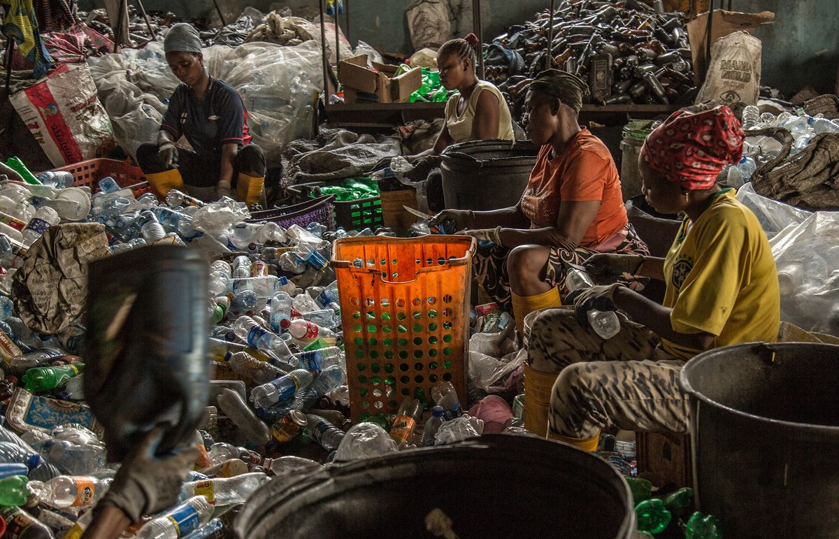 Nigeria Enlists Big Beverage Companies to Fight Plastic Waste
