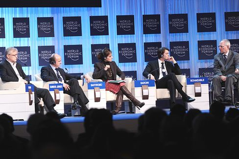 Groupthink in Davos: The Financial Crisis Is Over