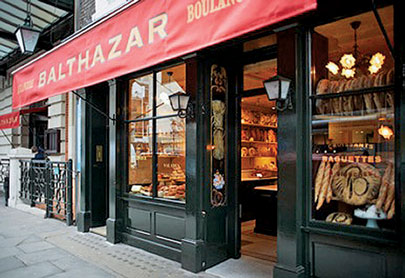 Balthazar is in London???s touristy Covent Garden neighborhood