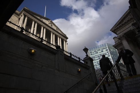Bank Of England Headquarters Ahead Of Interest Rate Decision