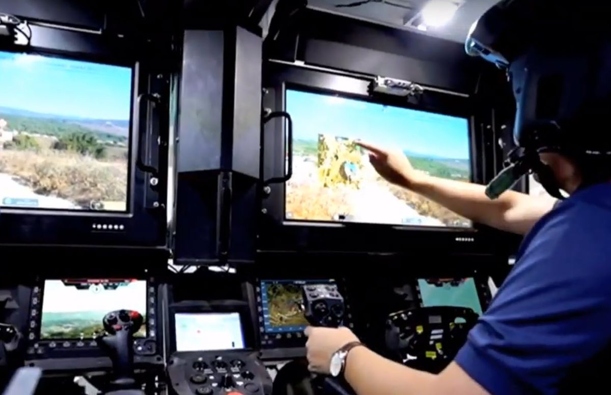 Israel Defense Ministry Unveils 'Combat Vehicle of the Future'