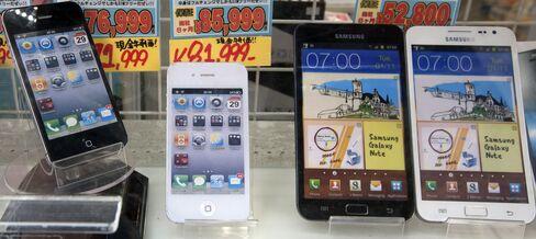 Samsung Profit Beats Estimates as Galaxy Fends Off IPhone 5