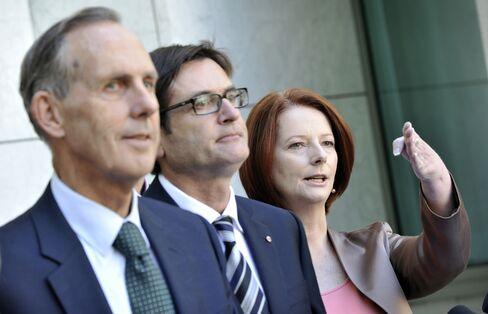 Australia to Set Carbon Tax Next Year Ahead of Trading Plan