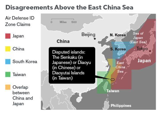 China's Territorial Disputes
