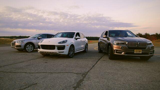 Is The Best Luxury SUV A Porsche Cayenne BMW X Or Audi Q - Audi q5 vs bmw x5