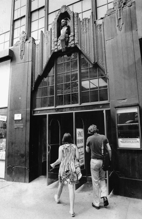 The Brill Building at 1619 Broadway in New York City, Sept. 1974.