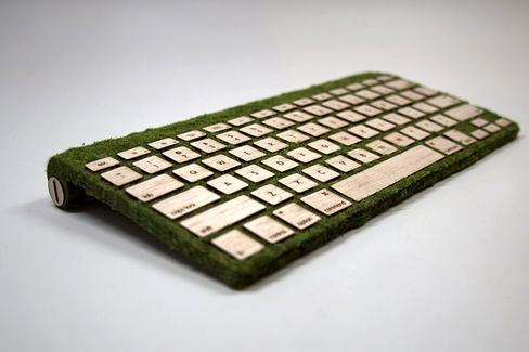 Office Upgrade: The Wooden Keyboard