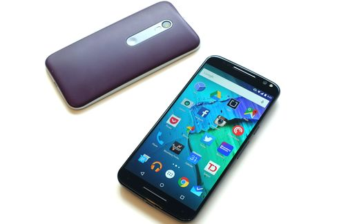 The Moto X Style is larger and a lot more powerful than the budget Moto G.