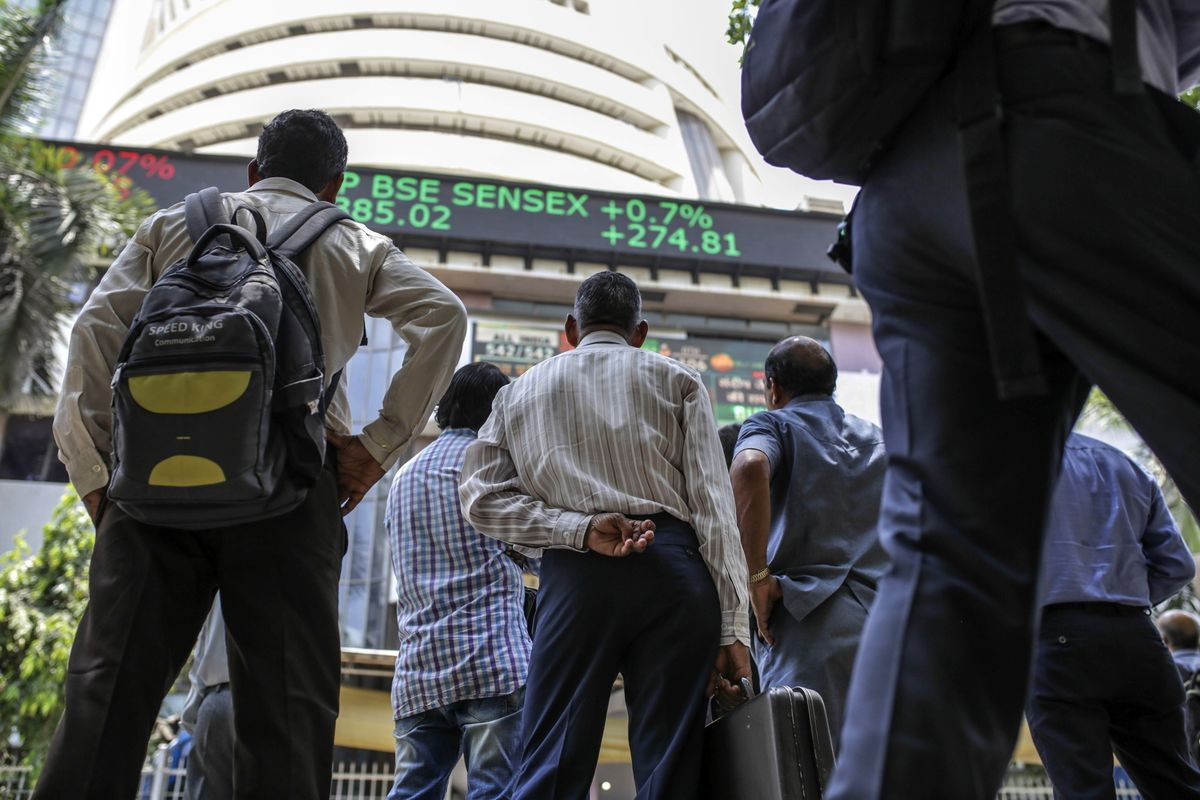 India's Economy Is Sputtering. But Its Stock Market Powers Ahead