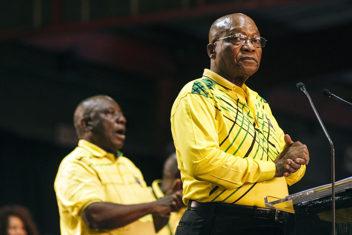 ANC Is Said to Agree on Zuma Exit as South African President