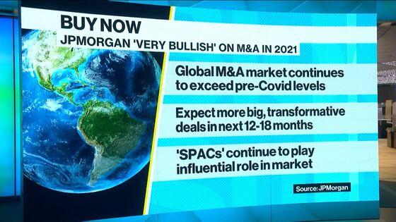 M&A Bankers Won't Get Long Christmas Break, JPMorgan Says