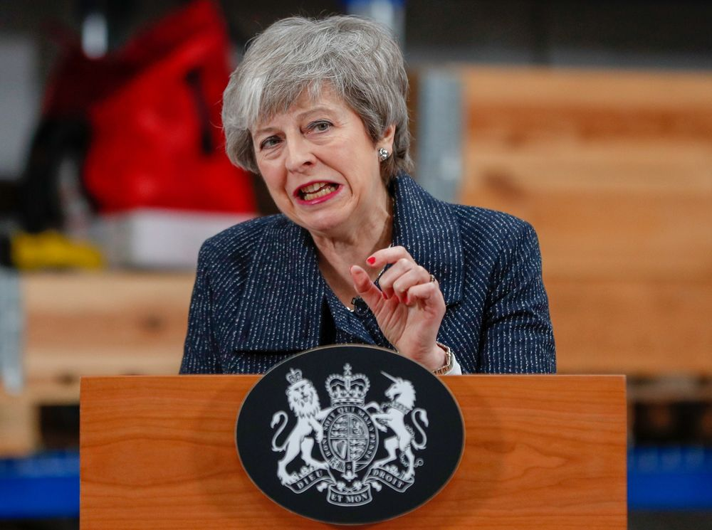May Says Brexit Might Never Happen If Parliament Rejects Her Deal