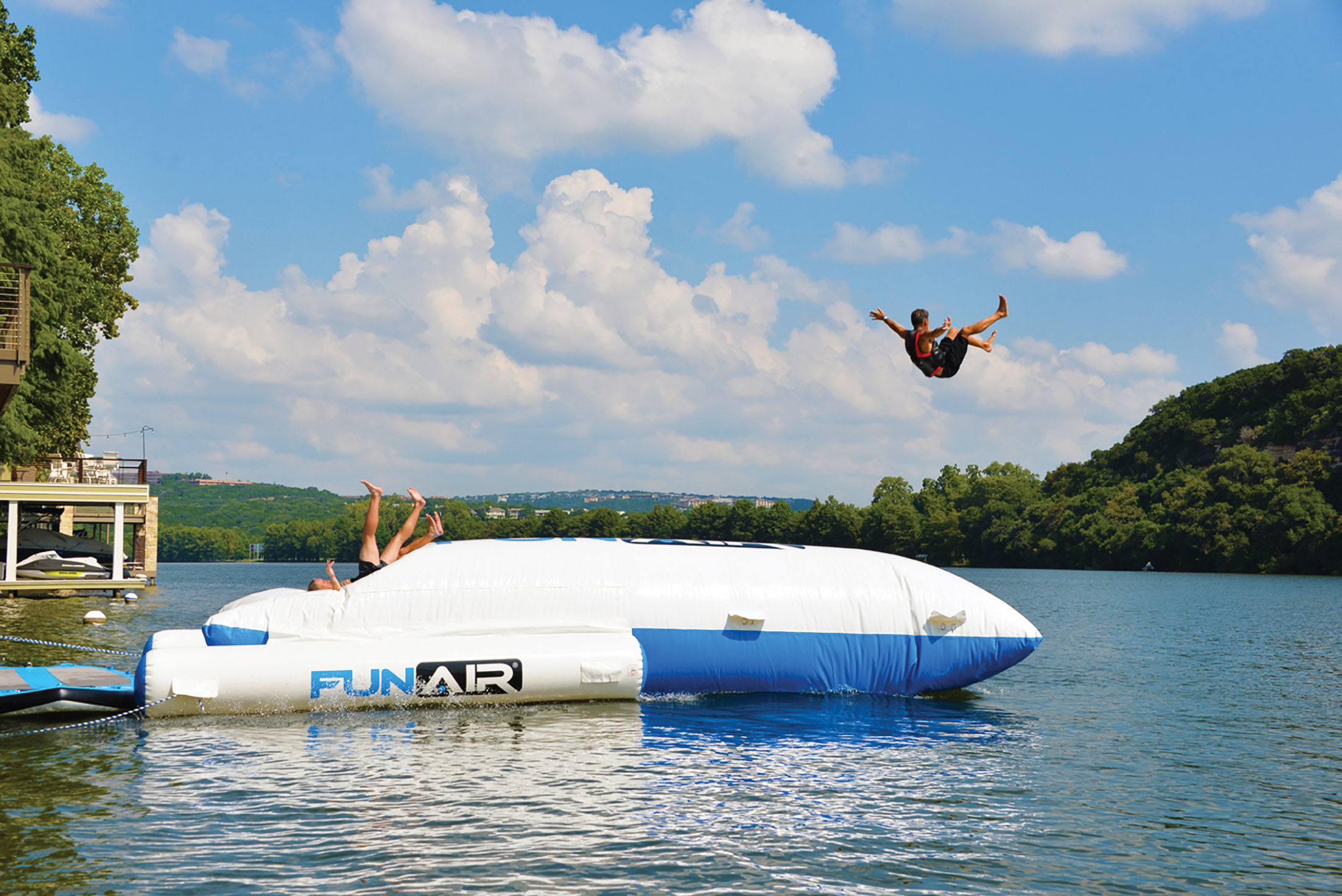 relates to Floating Mansions and Diving Drones! Summer's Hottest Water Whizbangs
