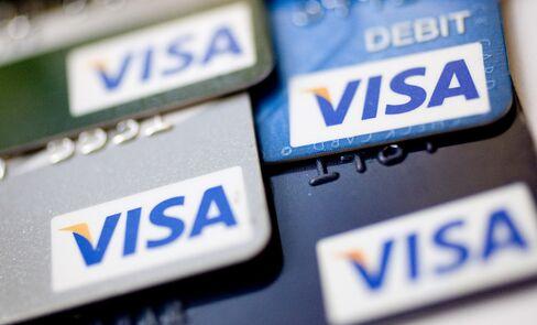 Visa Profit Beats Estimates as Credit-Card Spending Increase