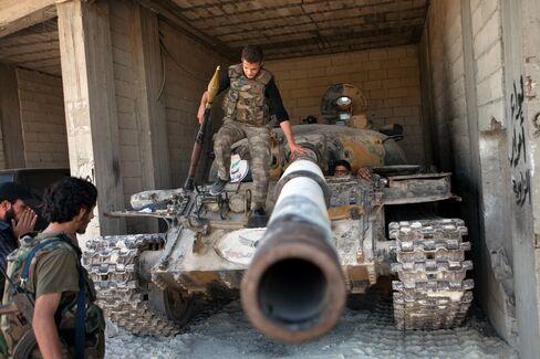 Syrian Rebels' Car Bomb Explodes Inside Aleppo Airbase