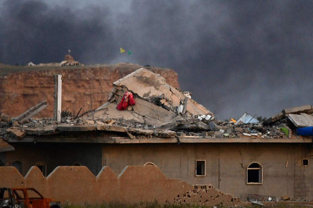 Islamic State Last Syria Outpost Falls to U.S.-Backed Forces