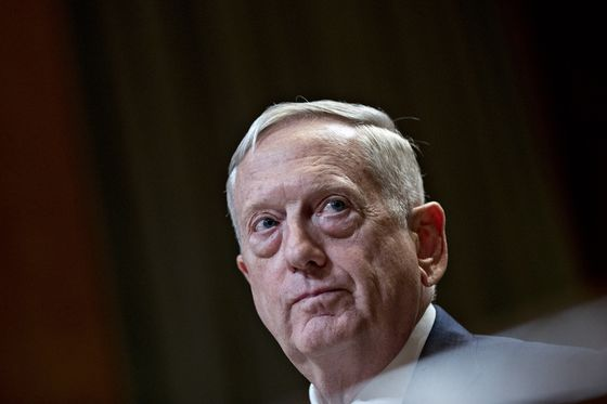 Mattis Stays Mum on Trump Even While Taking Aim at His Policies