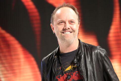 Metallica's drummer Lars Ulrich