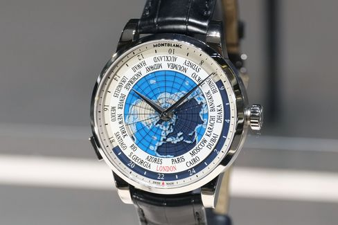 Montblanc continues to make high complications affordable with the Orbis Terrarum.