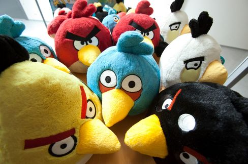 'Angry Birds' Fuels Finland Game Boom as Investors Seek Next Hit