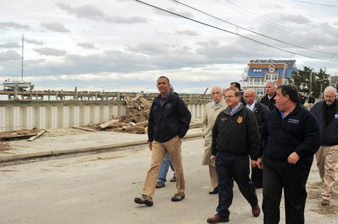 Reid Says Obama to Request About $60 Billion in Sandy Assistance