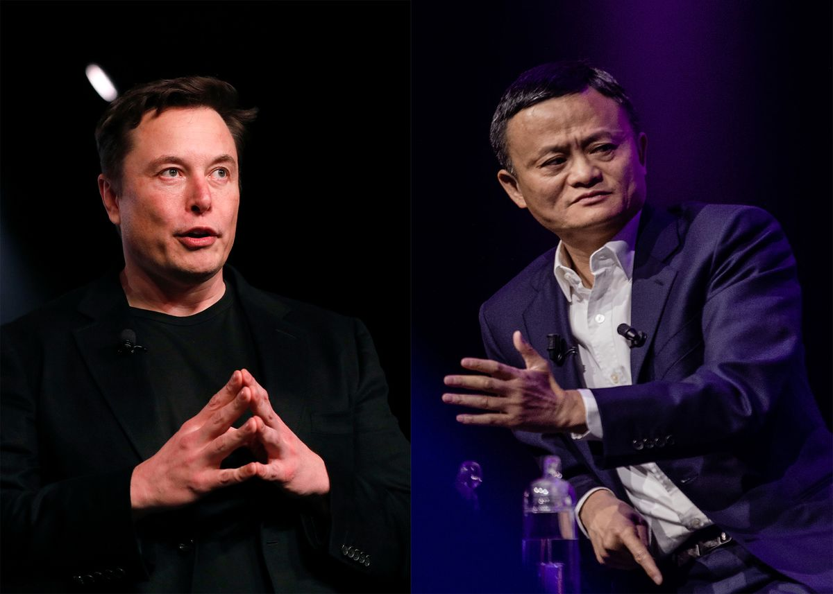 Elon Musk and Jack Ma Debate AI at China Summit
