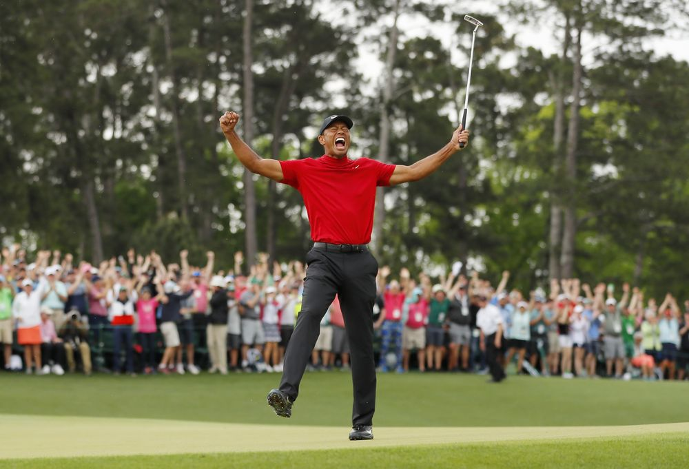 48531675b7af95 Tiger Woods Once Again Golf s Biggest Star With Masters Win - Bloomberg