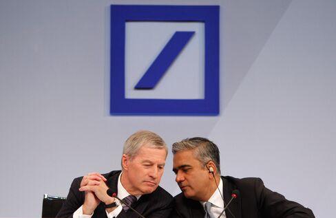 Anshu Jain and Juergen Fitschen