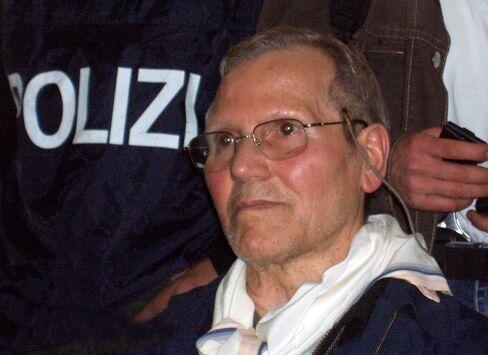 Sicilian Mafia boss Bernardo Provenzano
