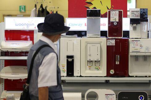 Woongjin Units Tumble on Parent Receivership Filing