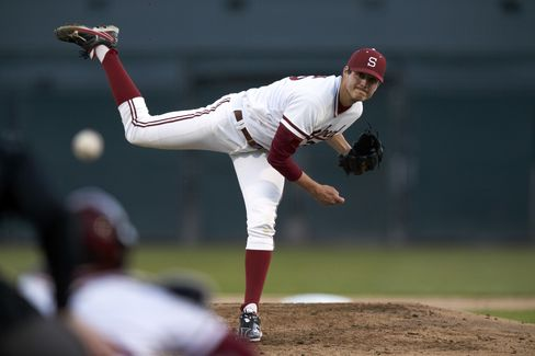 Baseball Pitcher Mark Appel
