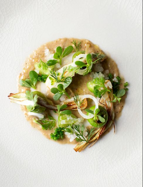 Green Salsa Salad.