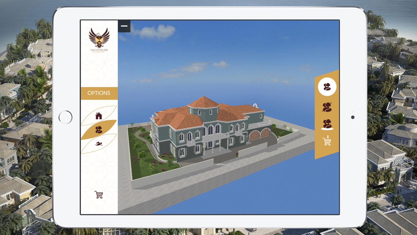You can now build a multi million dollar home via your ipad