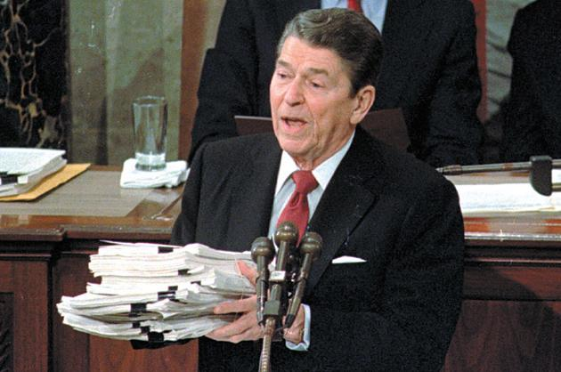 Ronald Reagan, 1984