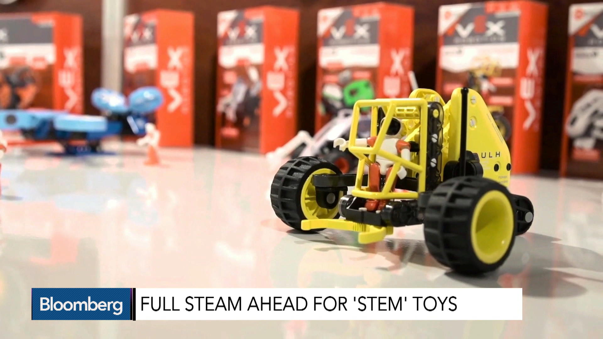 Full Steam Ahead For STEM Toys – Bloomberg